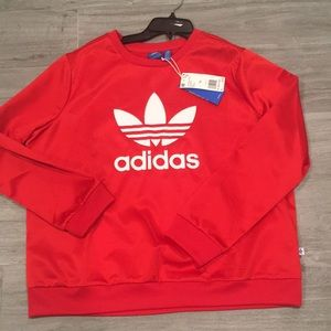 Adidas Originals Women's Satin sweatshirt